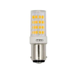 Λάμπα led BA15D καλαμπόκι 5W θερμό λευκό φως EL115353