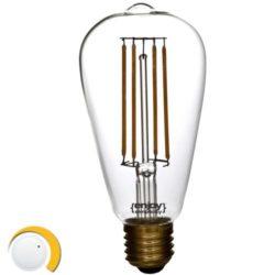 Λαμπτήρας LED ST64 5W EL826453 ντιμαριζόμενος