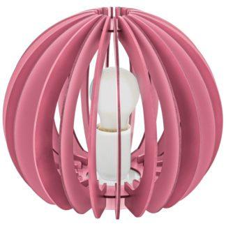 Παιδικό φωτιστικό επιτραπέζιο ροζ FABELLA 95954