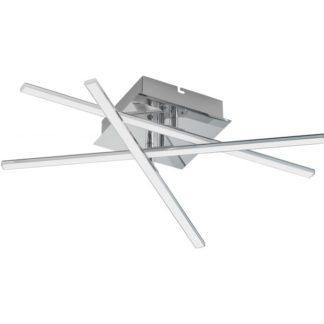 Φωτιστικό οροφής-απλίκα LASANA 1 95567