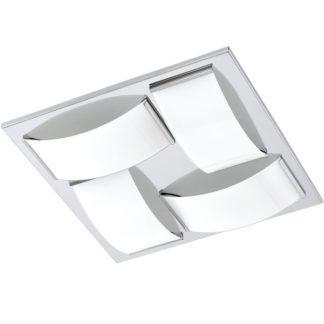 Φωτιστικό οροφής-τοίχου μπάνιου WASAO1 94884 τετράφωτο χρώμιο