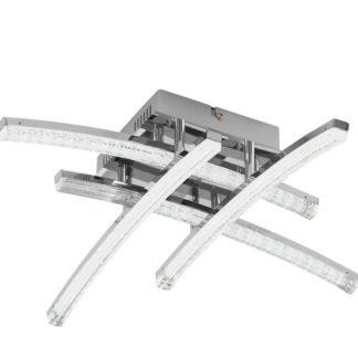 Φωτιστικό οροφής PERTINI 96093 τετράφωτο