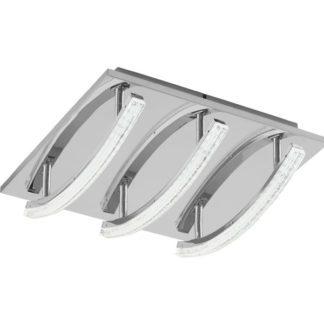 Φωτιστικό οροφής PERTINI 96094 τρίφωτο