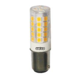 Λάμπα led BA15D καλαμπόκι 5W ψυχρό λευκό φως EL115356