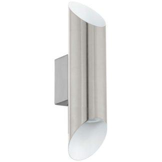 Απλίκα δίφωτη VIEGAS 95422 LED λευκό με νίκελ
