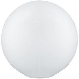 Επιτραπέζιο γυάλινο φωτιστικό NAMBIA 1 95777 λευκό