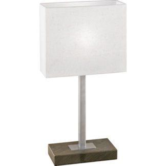 Επιτραπέζιο φωτιστικό PUEBLO 1 87599 καφέ αντικέ-μπεζ καπέλο
