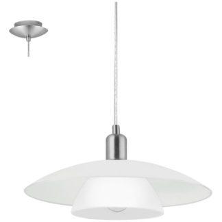 Κρεμαστό φωτιστικό BRENDA 87052 λευκό Ø395mm