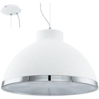 Κρεμαστό φωτιστικό DEBED 92916 λευκό Ø500mm