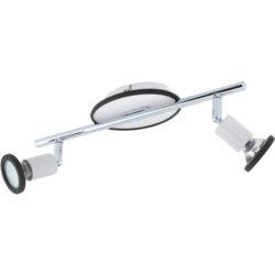 Νεανικό φωτιστικό σποτ LED δίφωτο MODINO 94172 λευκό με μαύρο