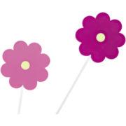 Παιδικό φωτιστικό οροφής-τοίχου με ροζ λουλούδια VIKI1 92147 (3)