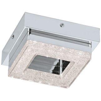 Φωτιστικό οροφής τετράγωνο FRADELO 95655 μονόφωτο