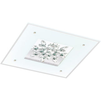 Φωτιστικό οροφής-τοίχου τετράγωνο BENALUA 93574 L470mm