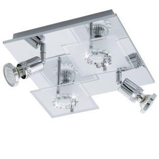 Φωτιστικό οροφής-τοίχου BALERNA 94529 τετράφωτο L270mm
