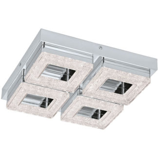 Φωτιστικό οροφής-τοίχου FRADELO 95657 τετράφωτο