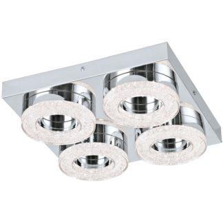 Φωτιστικό οροφής-τοίχου FRADELO 95664 τετράφωτο