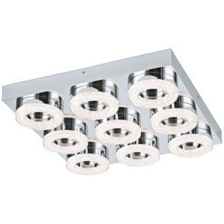 Φωτιστικό οροφής-τοίχου FRADELO 95665 εννιάφωτο