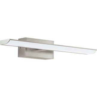 Απλίκα καθρέφτη μπάνιου TABIANO 94614 ματ νίκελ ατσάλι L405mm