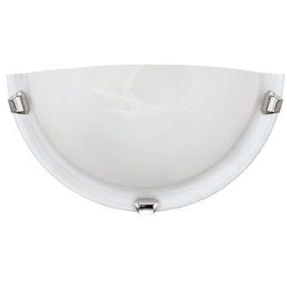Απλίκα SALOME 7188 λευκό-ασημί