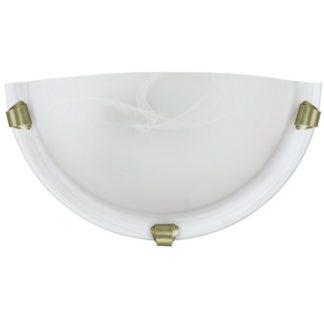 Απλίκα SALOME 7903 λευκό-μπρονζέ