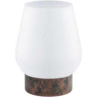 Επιτραπέζιο φωτιστικό DAMASCO 1 95762 αντικέ χαλκός