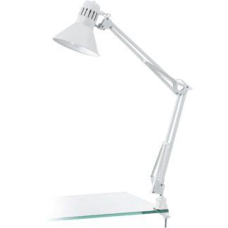 Επιτραπέζιο φωτιστικό FIRMO 90872 λευκό με κλιπ
