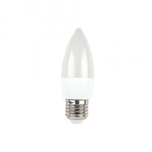 Λάμπα LED E27 Κερί SMD 5.5W Φυσικό λευκό 4000K Λευκό 43431