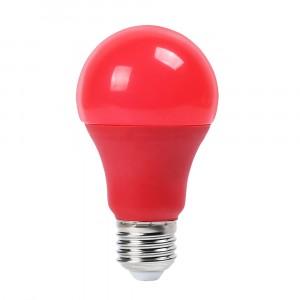 Λάμπα LED E27 A60 SMD 9W Κόκκινη 7341