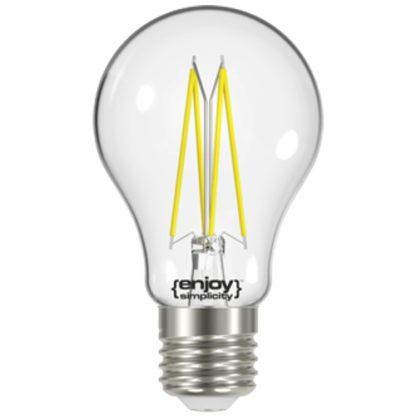 Λάμπα LED FILLAMENT CLEAR A60 6W Θερμό Λευκό EL822602