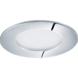 Σποτ χωνευτό μπάνιου ασημί FUEVA1 96053 θερμό λευκό φως