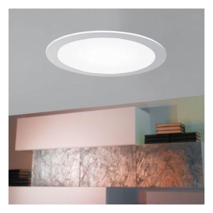 Σποτ χωνευτό μπάνιου λευκό FUEVA1 96166 ενδιάμεσο λευκό φως Ø170mm (2)