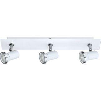 Φωτιστικό μπάνιου σποτ τρίφωτο λευκό TAMARA 1 95994