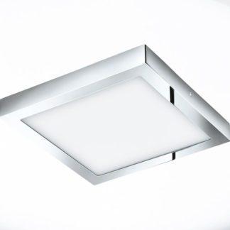 Φωτιστικό μπάνιου FUEVA1 96059 τετράγωνο ασημί