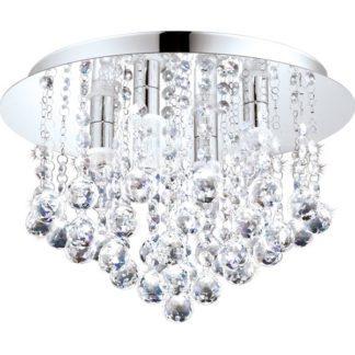 Φωτιστικό οροφής μπάνιου ALMONTE 94878 με κρυστάλλους