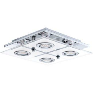 Φωτιστικό οροφής τετράγωνο CABO 30931 τετράφωτο