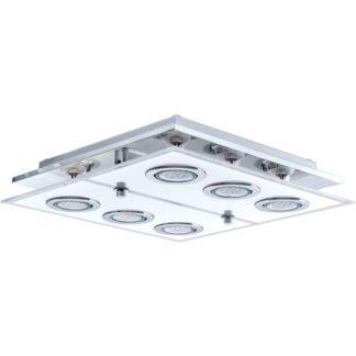 Φωτιστικό οροφής τετράγωνο CABO 30932 εξάφωτο