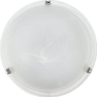 Φωτιστικό οροφής-τοίχου SALOME 7184 Ø400mm λευκό-ασημί