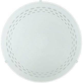 Φωτιστικό οροφής-τοίχου TWISTER 82893 λευκό Ø250mm