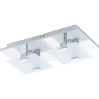 Φωτιστικό οροφής-τοίχου VICARO 93312 δίφωτο