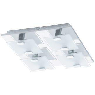 Φωτιστικό οροφής-τοίχου VICARO 93314 τετράφωτο