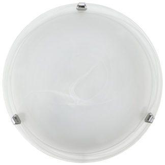 Φωτιστικό οροφής SALOME 7186 λευκό-ασημί