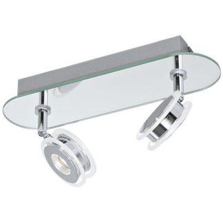 Φωτιστικό σποτ μπάνιου δίφωτο AGUEDA 95278