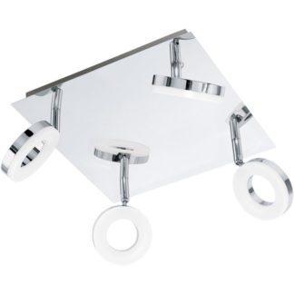 Φωτιστικό σποτ μπάνιου τετράφωτο GONARO 94763 τετράγωνο
