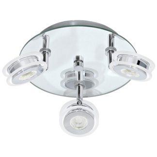 Φωτιστικό σποτ μπάνιου τρίφωτο AGUEDA 95279