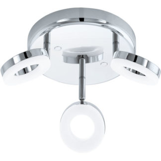 Φωτιστικό σποτ μπάνιου τρίφωτο GONARO 94762 στρόγγυλο