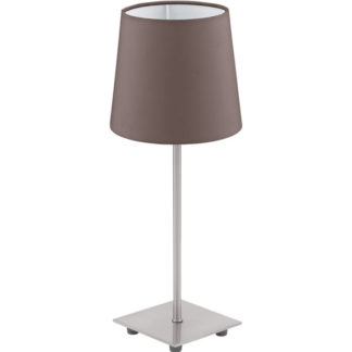 Επιτραπέζιο φωτιστικό LAURITZ 92882 καφέ