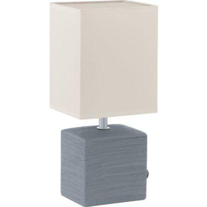 Επιτραπέζιο φωτιστικό MATARO 93044 γκρι λευκό