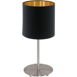 Επιτραπέζιο φωτιστικό PASTERI 95729 μαύρο-χρυσαφί