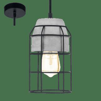 Κρεμαστό φωτιστικό CONSETT 49783 Ø140mm