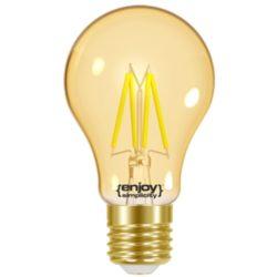 Λάμπα LED FILLAMENT AMBER A60-4|4.2W θερμό λευκό EL825601